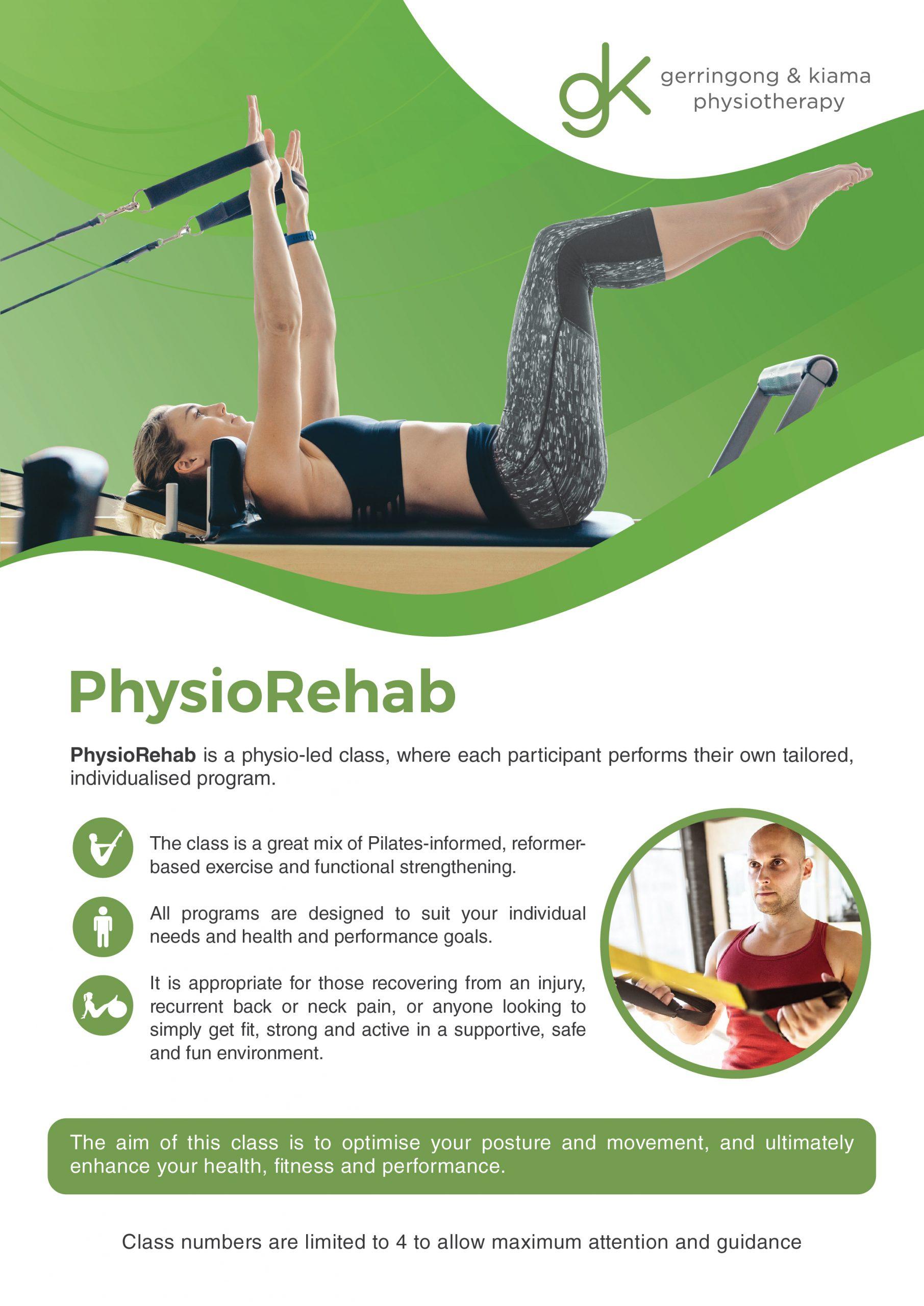 Image of PhysioRehab brochure